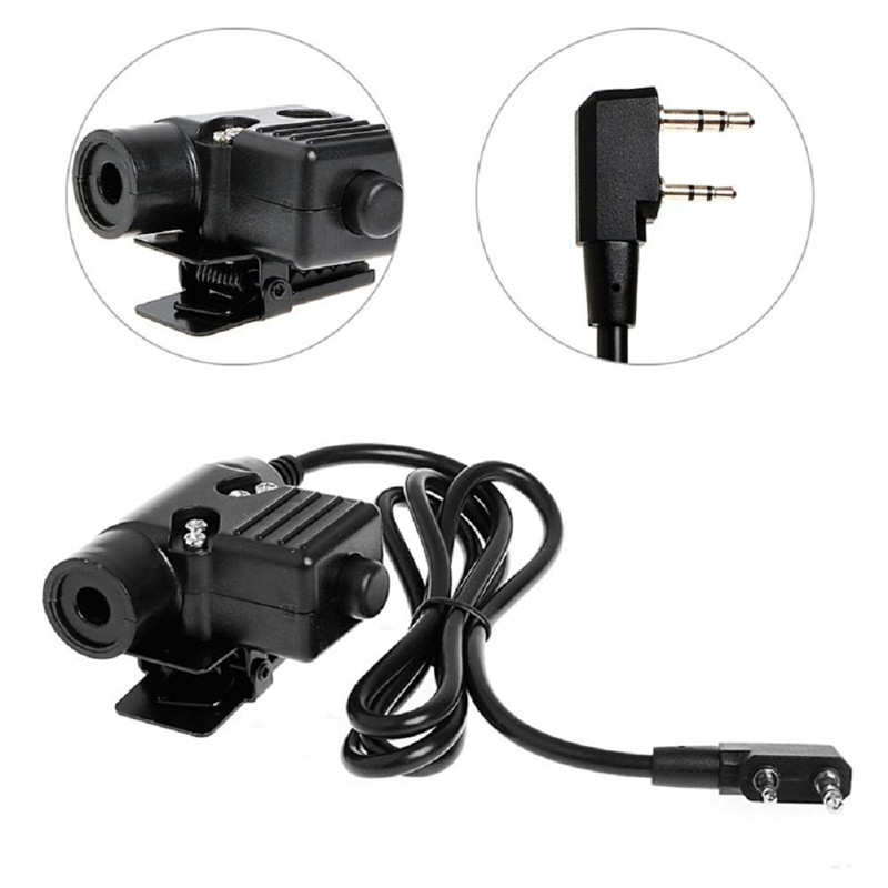 Cellphones & Telecommunications The Cheapest Price U94 Ptt Cable Plug Military Adapter Z113 Standard Version For Walkie Talkie Motorola Kenwood Tyt F8 Baofeng 5r Radio Hunting
