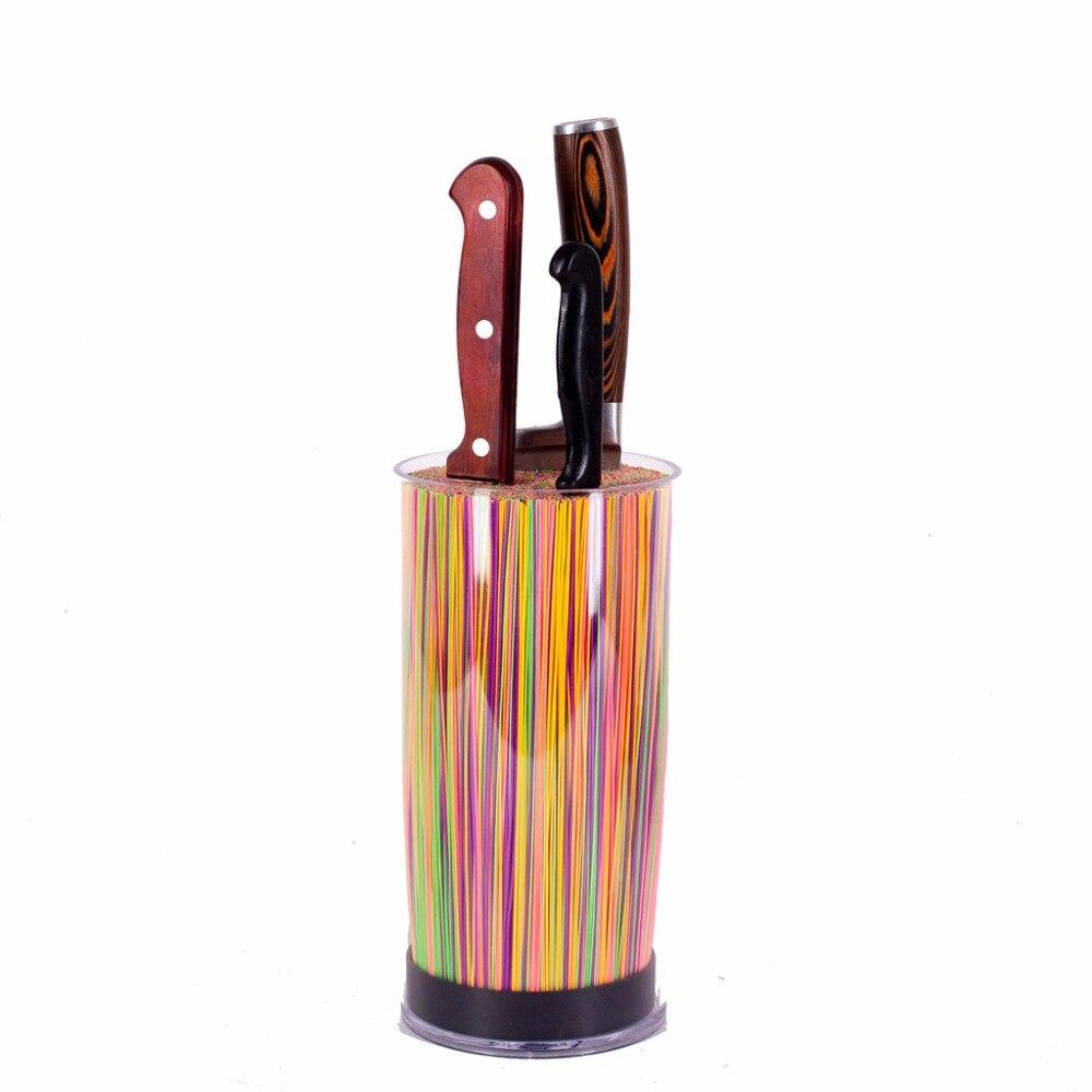 SATOSHI TITOLARE COLTELLI CON SEPARATORI del basamento coltelli pentole di qualità accessori da cucina in ceramica set di coltelli da cucina di vendita 838-013