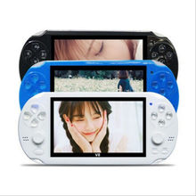 "4.3"" Handheld Game Player 8GB MP4 Player Video Free Download Game Camera Game Console TV Out Game Player(China)"