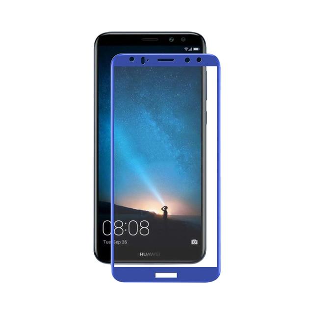 Защитное стекло Red Line для Huawei Nova 2i/Honor 9i/Mate 10 Lite Full Screen blue