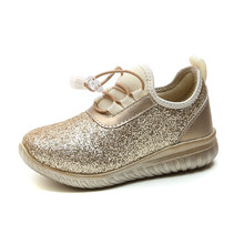 Shining Children s Shoes Kid Sneakers 2018 Autumn Girls Running Shoes  Ladies Princess Sequins Fashion Shoes Girls a2feca89a6d2