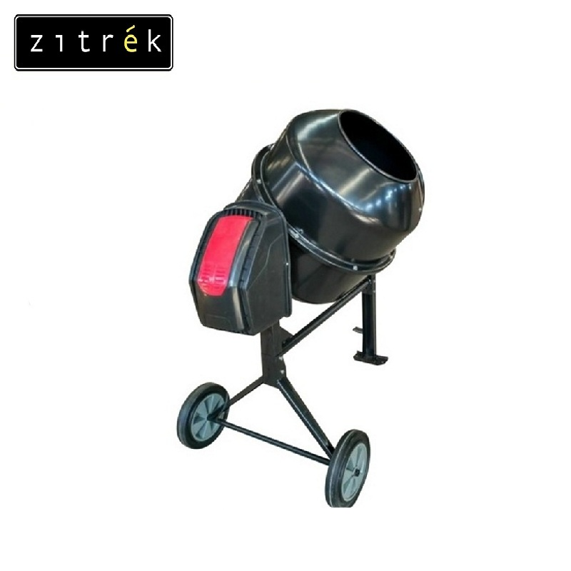 Concrete mixer Zitrek ZBR 250/220V Job mixer Drum mixer Revolving-drum Tilting concrete Mixer making concrete mixes satish chandra lightweight aggregate concrete