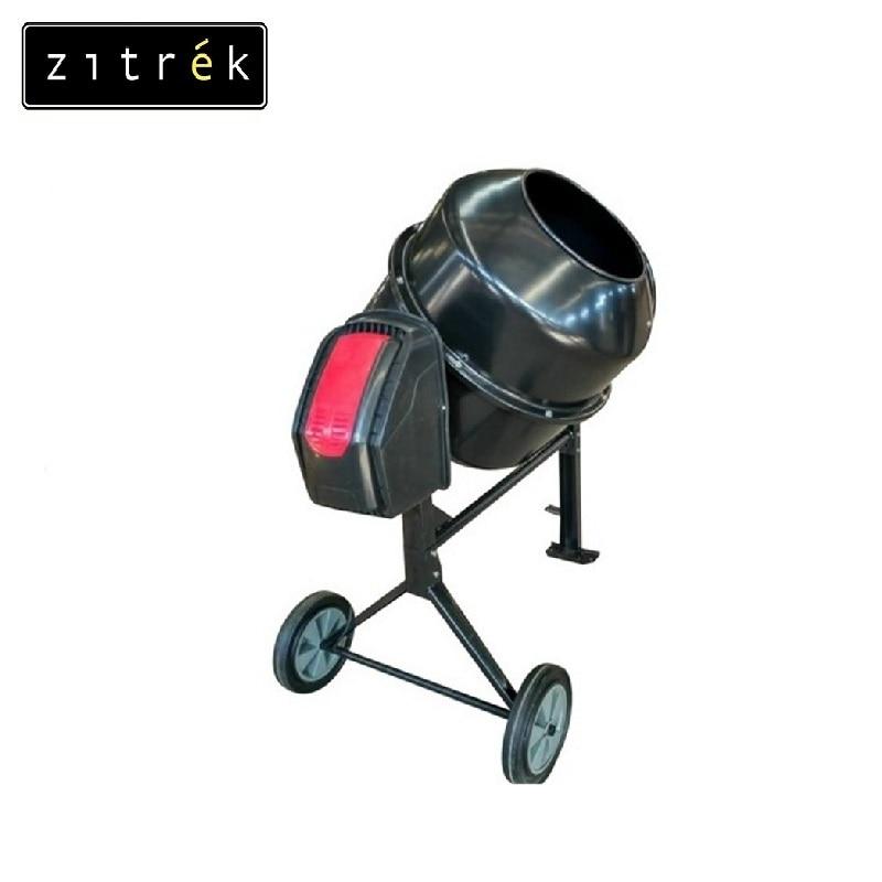 Concrete mixer Zitrek ZBR 250/220V Job mixer Drum mixer Revolving-drum Tilting concrete Mixer making concrete mixes