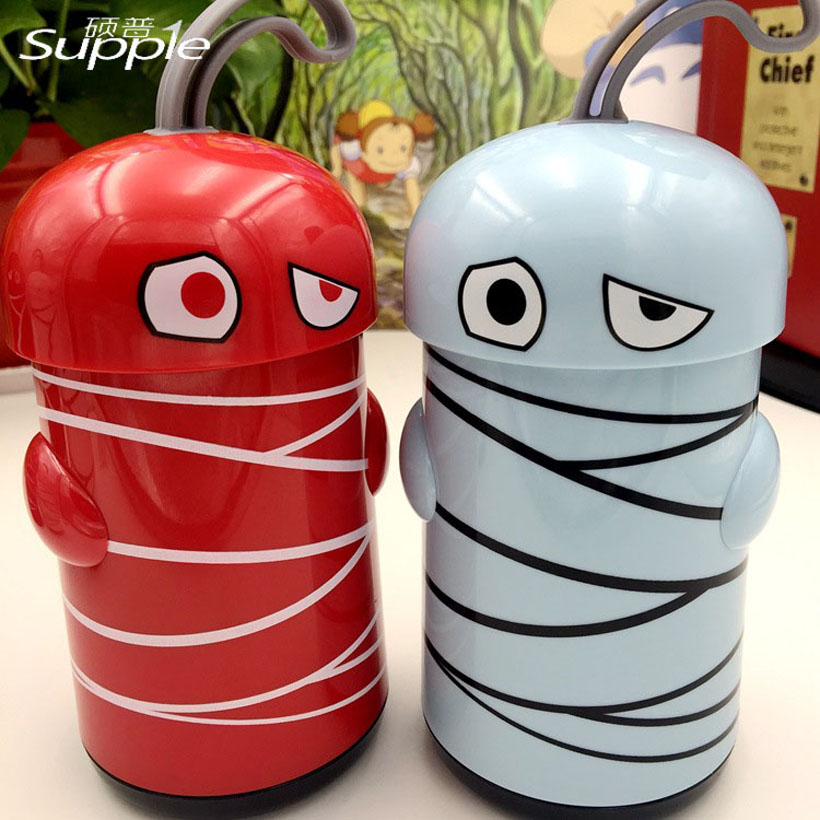 280ml Plants Vs Zombies Mummy Vacuum Cup Thermo Mug Insulated Stainless Steel Vacuum Flasks Thermoses Travel Drink Water Bottle