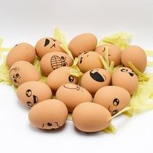 Random PU Slow Rebound Expression Egg Simulation Egg Model Decompression font b Toy b font Trolltech