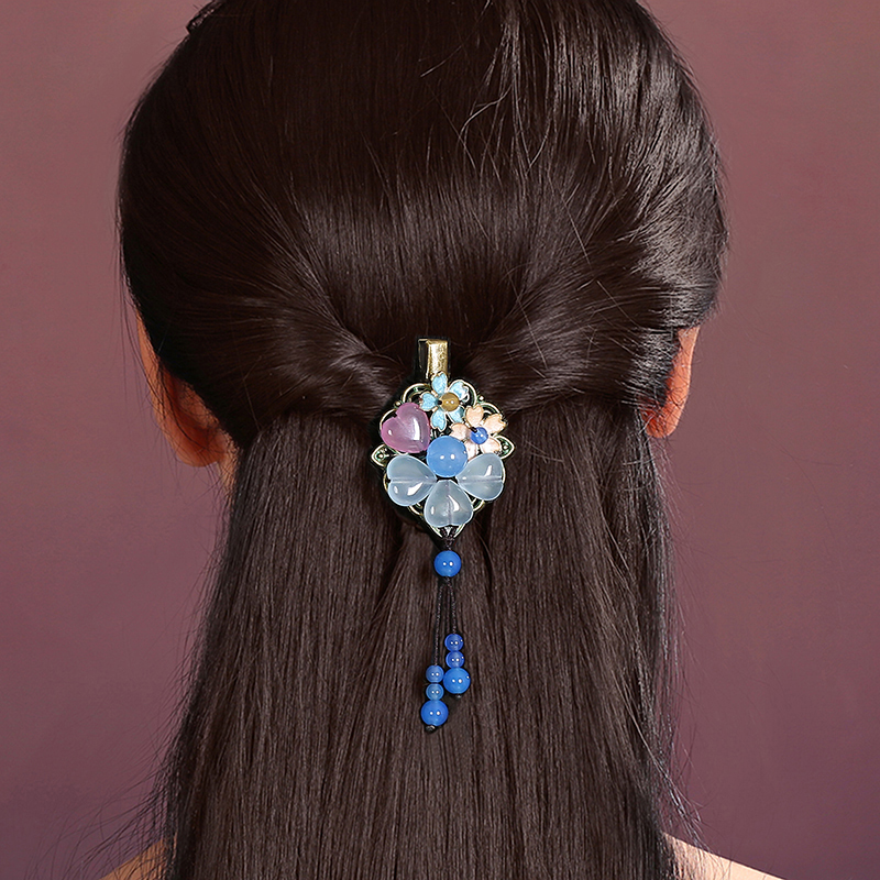 Hair Accessories handmade hairpins Retro hair claw clip Headband for Lady Hair Jewelry Claw цена