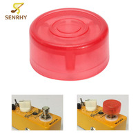 SENRHY 1Pcs Effects Pedal Footswitch Hat Colorful Guitar Plastic Bumpers Protector For Mooer Parts Accessories High