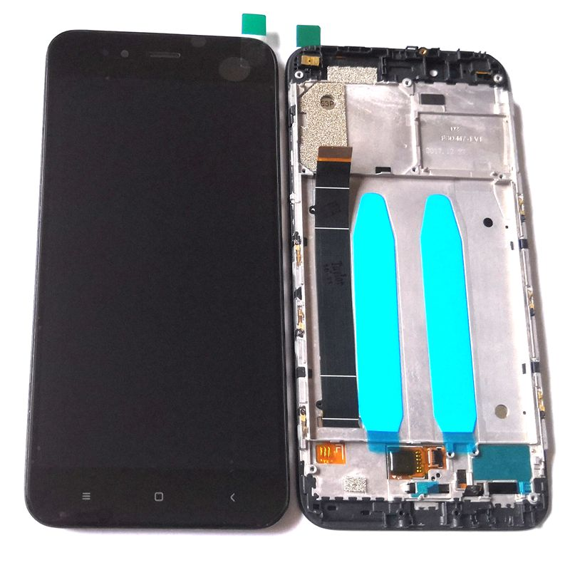 For Xiaomi Mia1 Mi A1 MDG2 Lcd Screen Display WIth Touch Glass DIgitizer Frame Assembly Replacement Parts Mi 5x Lcd Frame