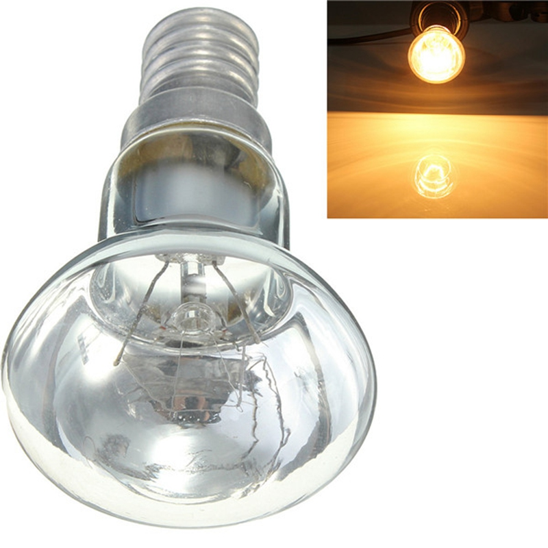 New Arrival Edison Bulb E14 SES 30W R39 Clear Reflector Spot Light Bulbs Lava Lamp Incandescent Filament Lamp Lighting 220V
