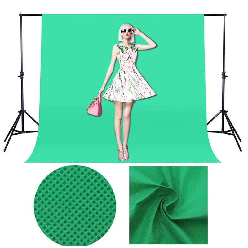 Green Screen Photography Backdrops Photo Studio Background Chroma Key Background Non-Woven Video Backdrops For Fotografia