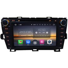 Android 6.0 8″ 32GB ROM Octa Core(2GB RAM 4GB RAM for choice) Car DVD Player Stereo Radio For Toyota Prius Left Hand D 2009-2015