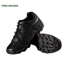 FREE SOLDIER кроссовки мужские спортивные тактические дышащие мужские ботинки для кэмпинга