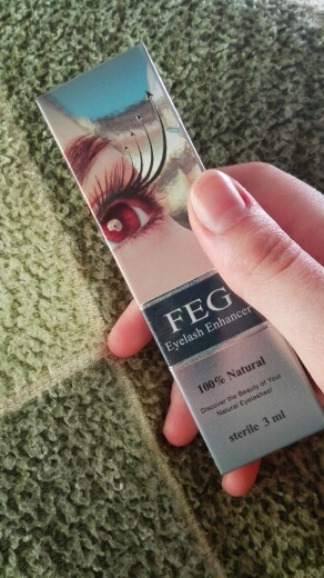 FEG Eyelash Enhancer photo review