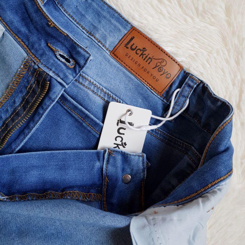 Женские джинсы с Алиэкспресс