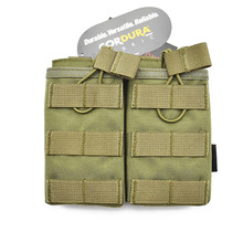 Airsoft MOLLE General Purpose Dual Double Mag Pouch Universal MultiFunction Military Tactical Hunting TW-M002