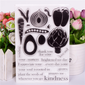 Transparent Clear Stamps DIY Silicone Seals Scrapbooking Card Making Photo Album Decoration