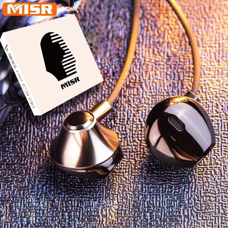 MISR P25 Metall Verdrahtete Kopfhörer für Iphone Samsung Huawei Xiaomi mit Mic Mikrofon für Telefon In-ohr Headsets Stereo Ohrhörer