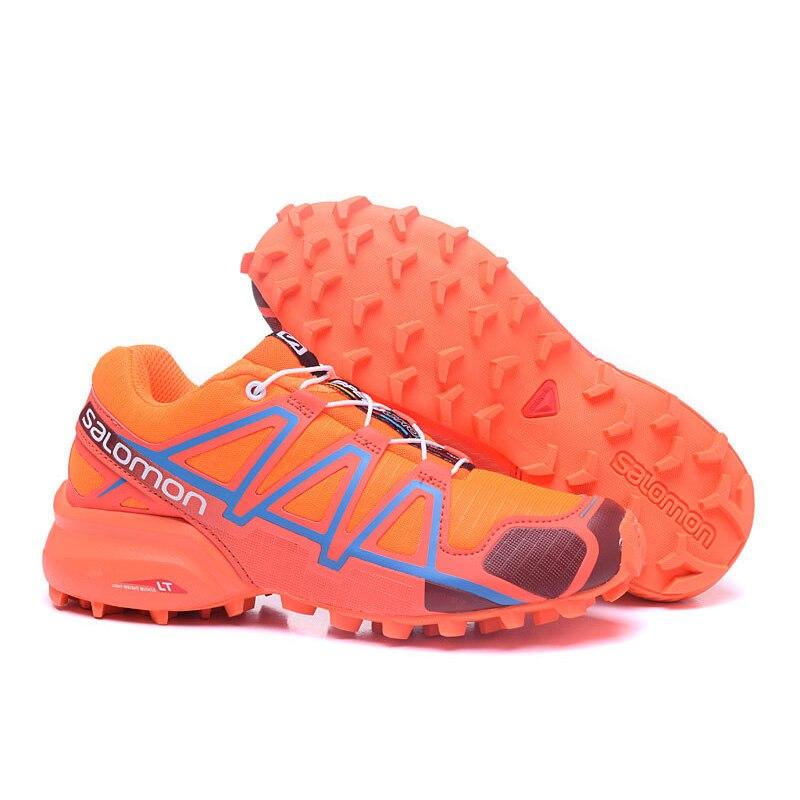 Salomon Speed Cross 4 Free Run Lightweight Sport Shoes sp4 Outdoor Running Sneakers Women Footwear другие run this 4