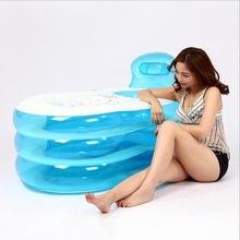 Портативная ванна для взрослых из ПВХ складная надувная безопасная