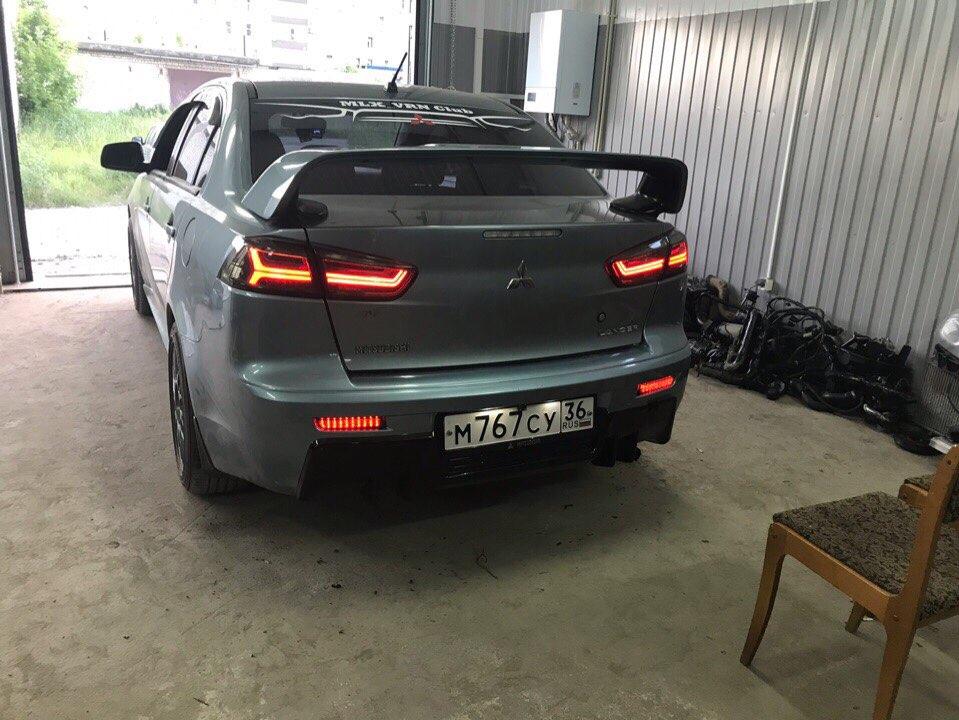 Luzes p/ carro Bumper Refletor Fumado