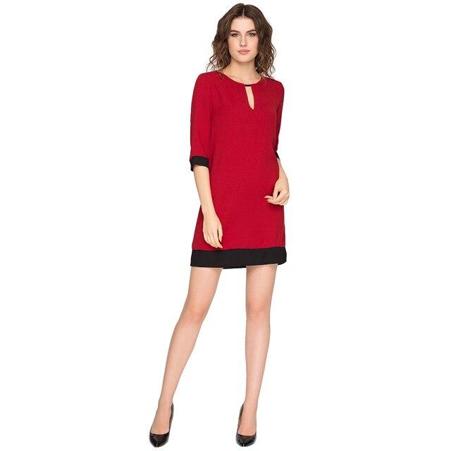 Gloria Jeans Элегантное платье для девушки с вырезом-каплей GDR011413