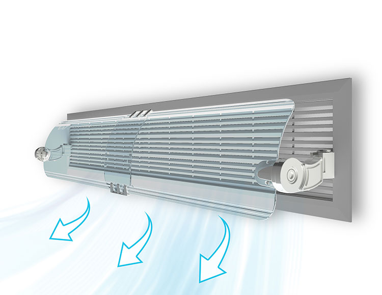 Vent Type Air Ac Reflector Air ConditionerVent Type Air Ac Reflector Air Conditioner