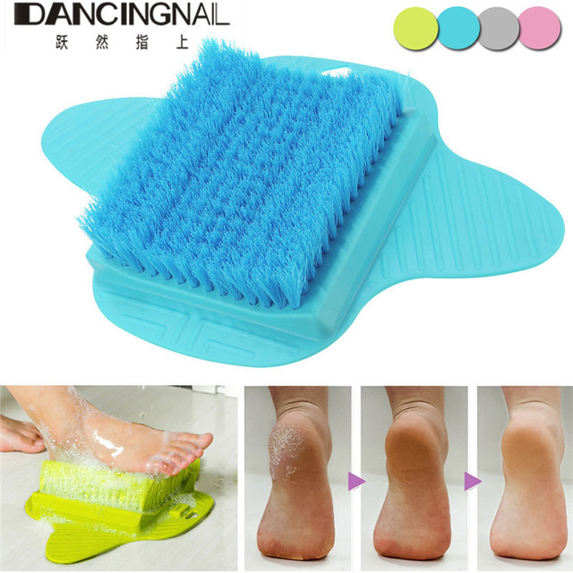 New Professional Foot Brush Scrub Massager Relax Relief Spa Shower Feet  Care Exfoliating Remove Dead Skin