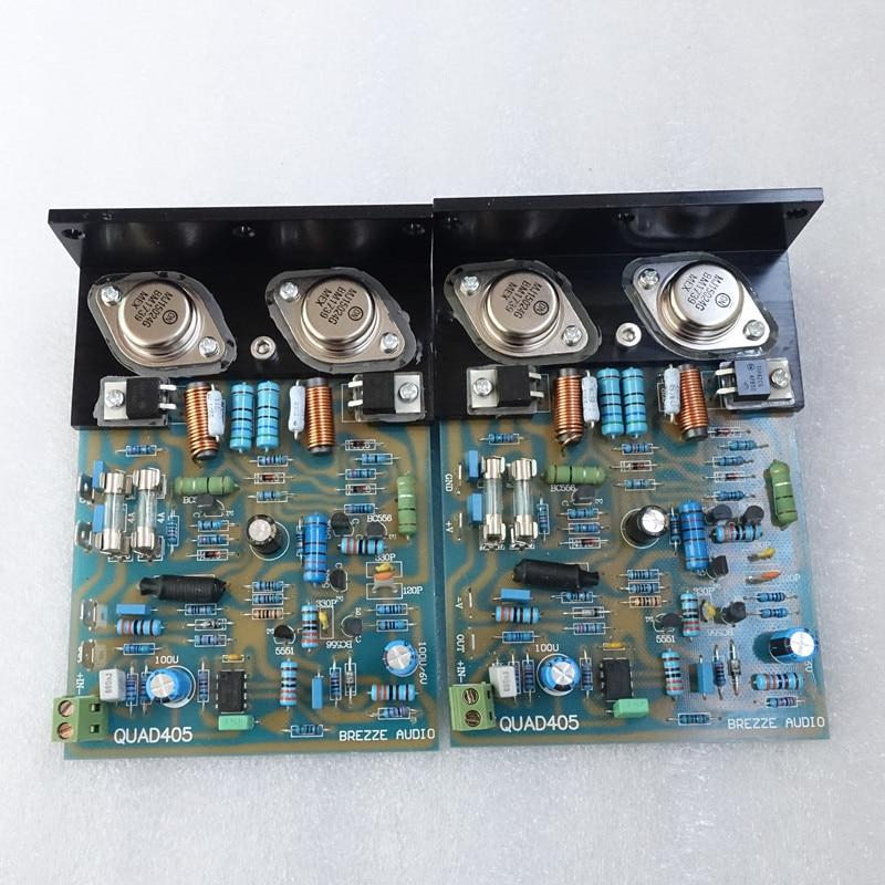 L'amplificateur de puissance classique Quad 405 cloné assemblé et testé