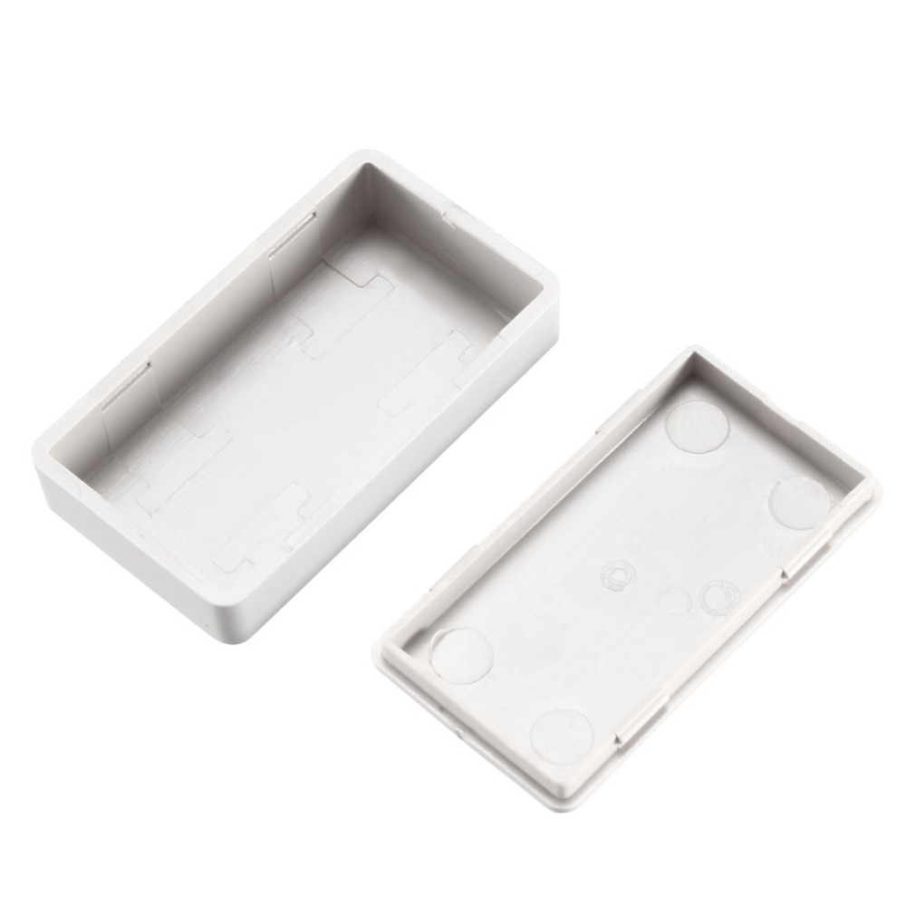 Uxcell 6pcs/lot 1.97 x 1.1 0.59inch / 50 28 15mm DIY White ABS Plastic Electronic Junction Box Enclosure Case