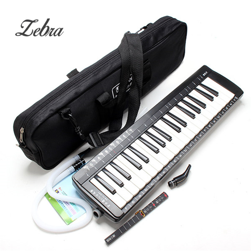 red pinewood kalimba 10 key finger thumb piano musical instrument Zebra Musical Instruments Keyboard Instrument Piano SW-37K 37 Keys Melodica Mouth Organ With Handbag for Music lovers
