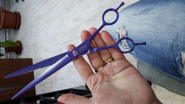 Tesouras de cabelo Cabeleireiro Tesoura Polegada
