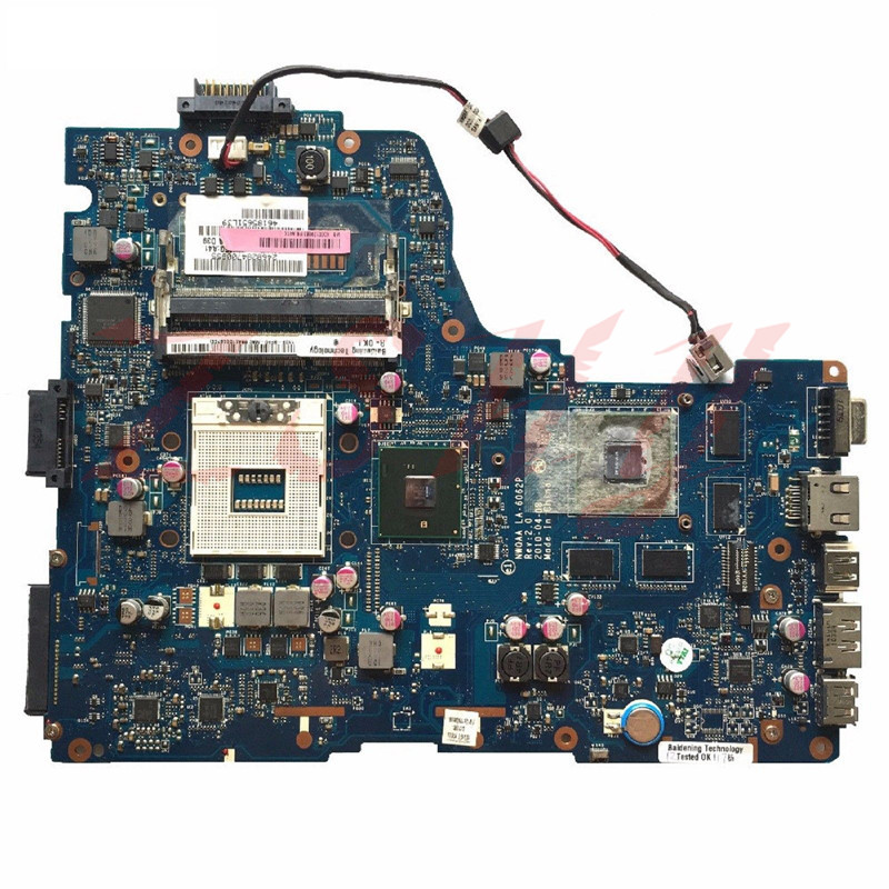 For Toshiba A660 A665 Laptop Motherboard K000104400 NWQAA LA-6062P 100% Tested