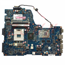 For Toshiba A660 A665 Laptop Motherboard K000104400 NWQAA LA-6062P Motherboard 100% Tested k000104400 motherboard for toshiba satellite a660 a665 hm55 nwqaa d12 la 6062p