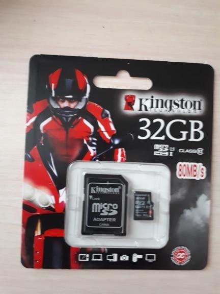 Карты памяти Kingston microSDHC SDC10G2/32 ГБ