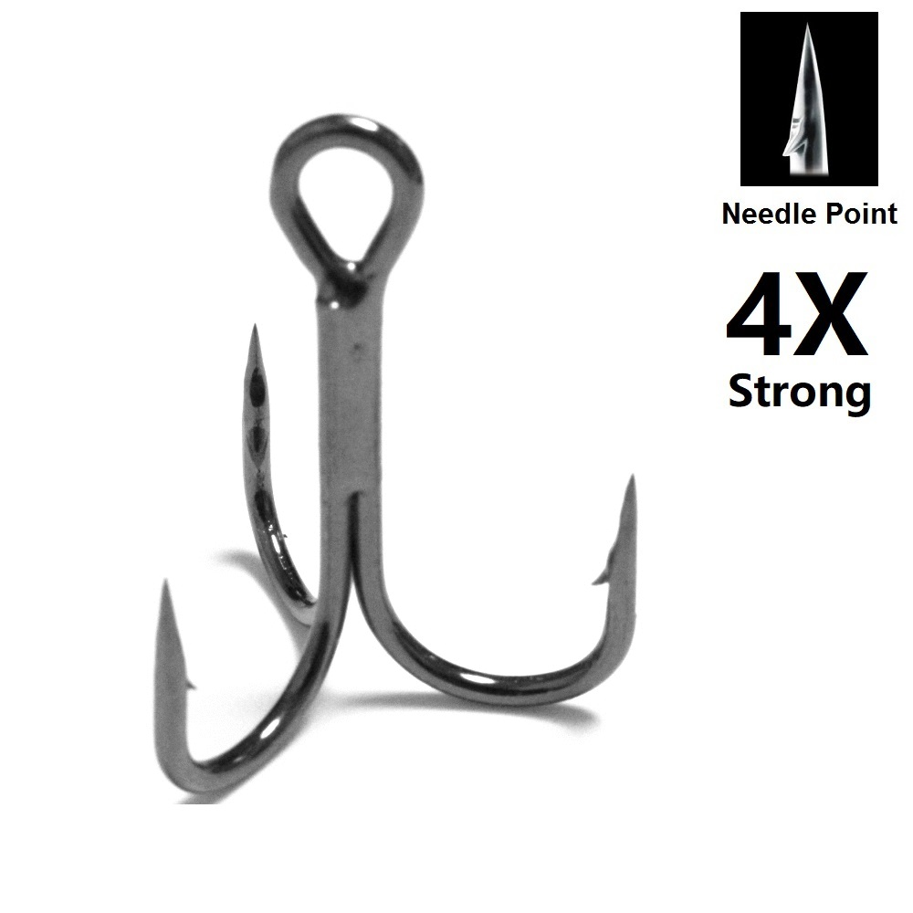Whopper 72 Pieces Forged Fishing Hooks Fish Tackle Size 8//10//12//14//16//18