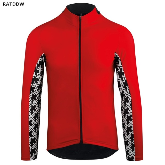 2760d7a25 Winter Thermal Fleece Men s Long Sleeve Cycling Jersey MTB Bike Bicycle  Shirt Clothing Mountain Bike Clothing