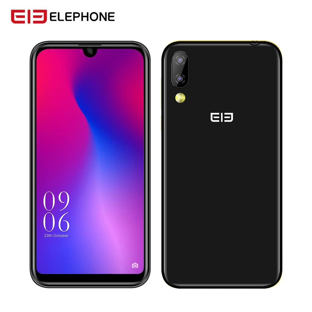 Elephone A6 Mini SmartPhone 4 GB 32 GB 5.71 ''écran de goutte d'eau Android 9.0 MT6761 Quad Core HD 16MP 4G LTE