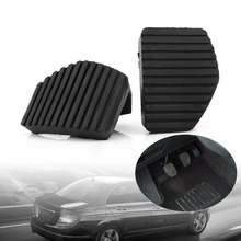 цены 1Pair Clutch Brake Pedal Rubber Cover For Peugeot/Citroen 1007 207 208 301 307 308 508 C3 C4 C5 C6 C8 Brake Clutch Pedal Pad