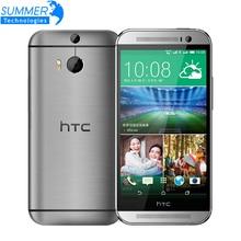 Оригинальный разблокирована HTC One M8 Зефир 5.0 'дюймов 4 г LTE Quad Core 2 г Оперативная память 16 ГБ Встроенная память 3 камеры мобильного телефона Восстановленное