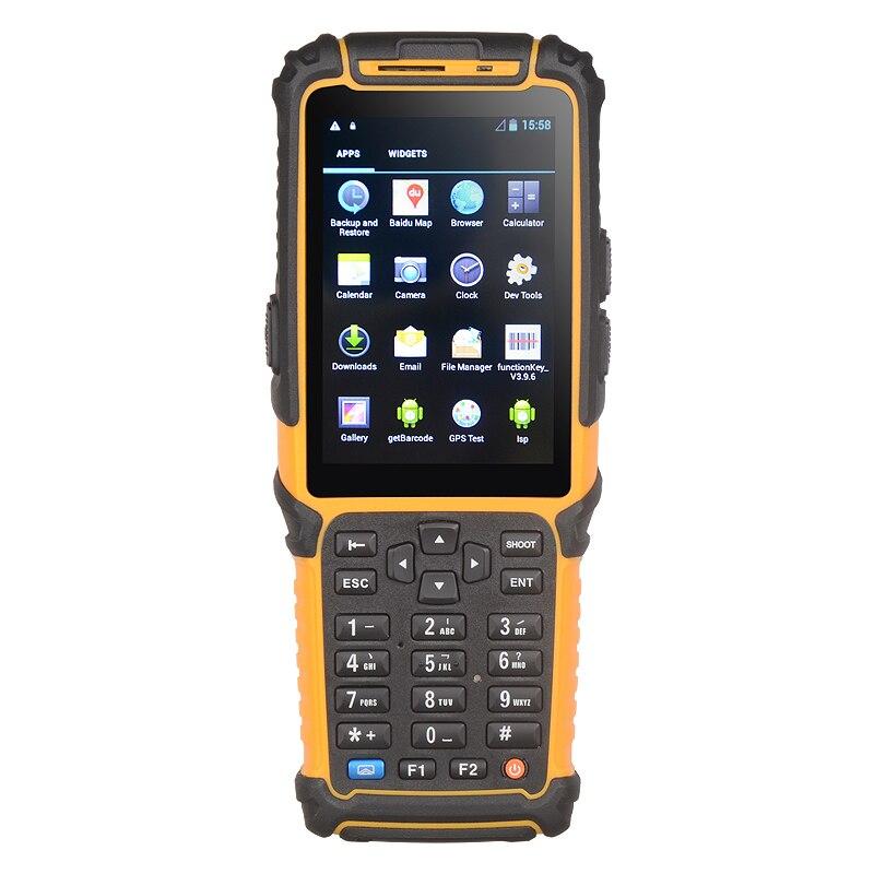 TS-901 Wifi 4G handy Wireless Barcode Scanner Handheld Terminal PDA Bar Code Reader Laser RFID Android 7.0 OS(China)