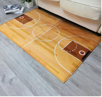 Basketball bereich teppich fußmatte Home Dekoration Tür Flur Matte Basketballplatz Teppiche für Wohnzimmer