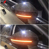 LED Dynamic Turn Signal Light Side Wing Rearview Mirror Indicator Sequential Blinker Lamp For AUDI A3 S3 8V 2013 2016 2017