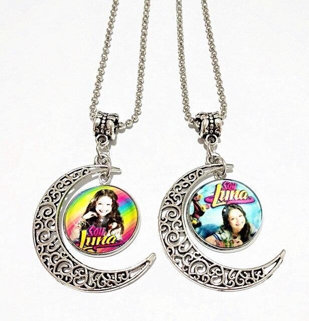 45e85b57be8b 24 unids lote (mixto 8 estilos) super pop cantante Soy Luna collar Elenco
