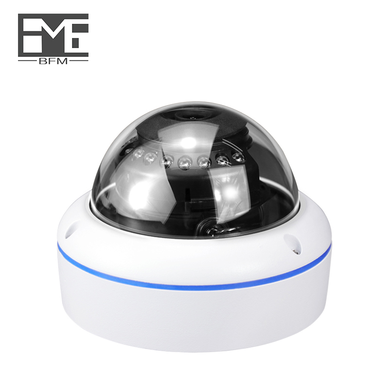 BFMore POE Audio Dome IP Camera 5.0MP H.265/H.264 CCTV dome camaras de seguridad Indoor Two-way Security Surveillance Monitoring