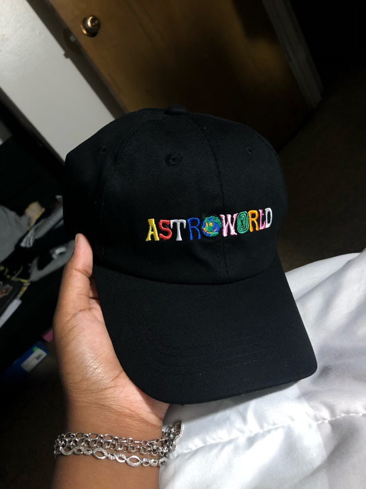 100% Cotton ASTROWORLD Baseball Caps Travis Scott Unisex Astroworld ... 0bdd6f21ce6e