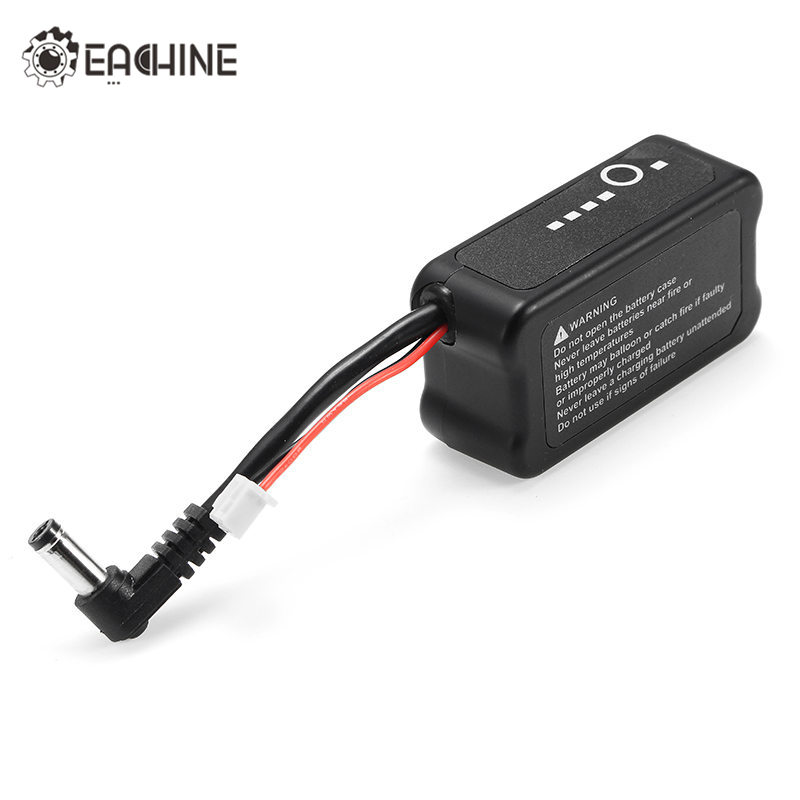 Eachine EV100 <font><b>2S</b></font> 7.4V <font><b>1000mah</b></font> <font><b>LiPo</b></font> Battery Rechargeable DC 2.1mm*5mm <font><b>2S</b></font> Balance Plug For FPV Goggles Fatshark RC Multicopter image