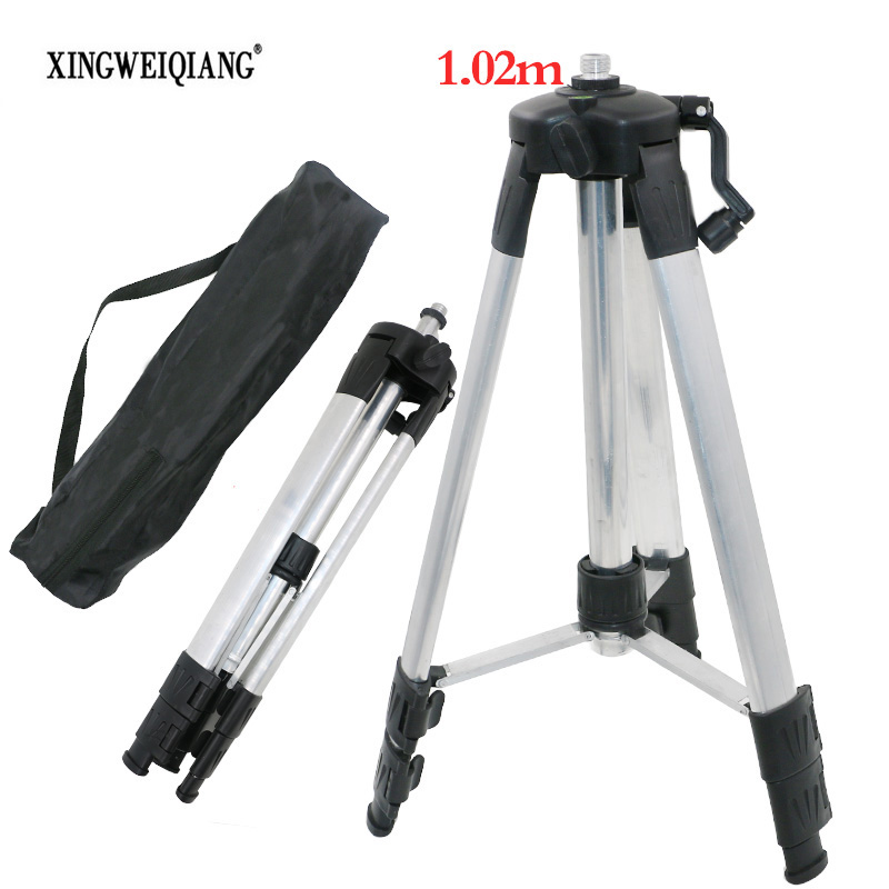 XINGWEIANG High Quality Portable 1.02m Height Adjustable Aluminum Thickness Tripod 5/8