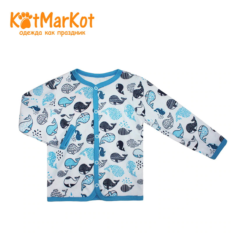 Blouse Kotmarkot 7256 children clothing cotton for baby boys kid clothes blouse for children kotmarkot 7685 kid clothes
