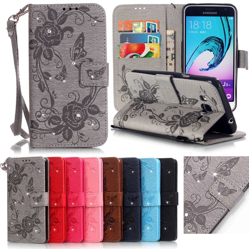 for coque samsung galaxy j3 2016 case leather wallet cell. Black Bedroom Furniture Sets. Home Design Ideas