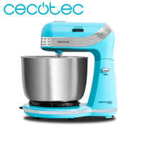 Cecotec Cecomixer Easy Mixer Kneader with 6 Power Levels for Biscuits Pan Cupcakes Simple Timeless Design for Domestic Use